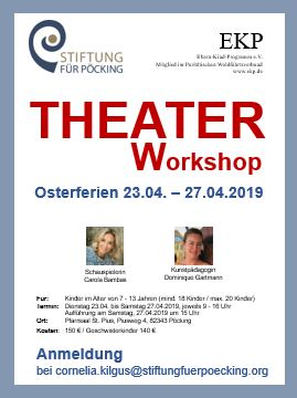 Plakat Theater Ostern 2019